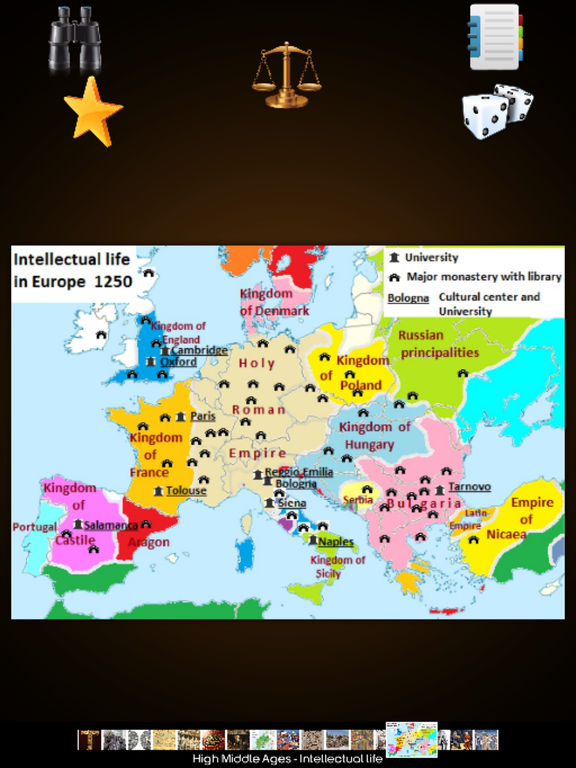 Medieval History Info! screenshot 7