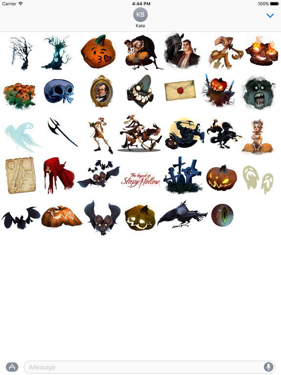 Sleepy Hollow Stickers screenshot 3