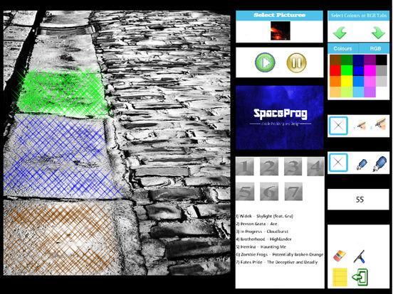 Oceanic Prog (Progressive Metal/Rock/Djent Album and Coloring) Side 1 screenshot 10