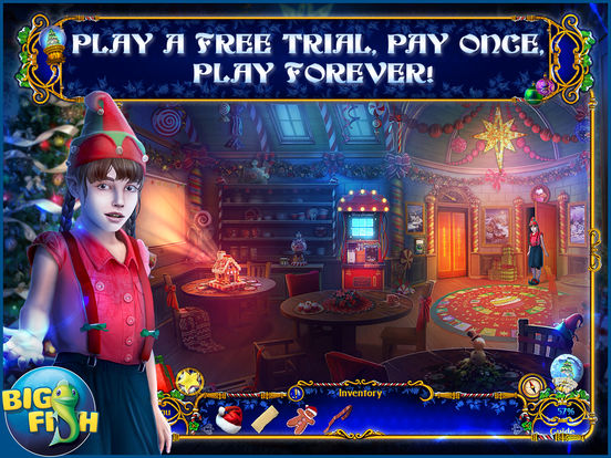 Yuletide Legends: The Brothers Claus Hidden Object screenshot 6