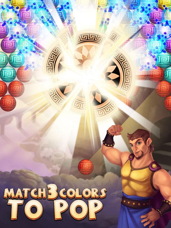Hercules Pop Bubble Shooter screenshot 8