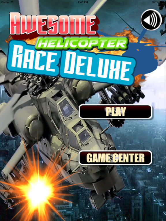 Awesome Helicopter Race Deluxe - A Burst Of Adrenaline And Speed screenshot 6