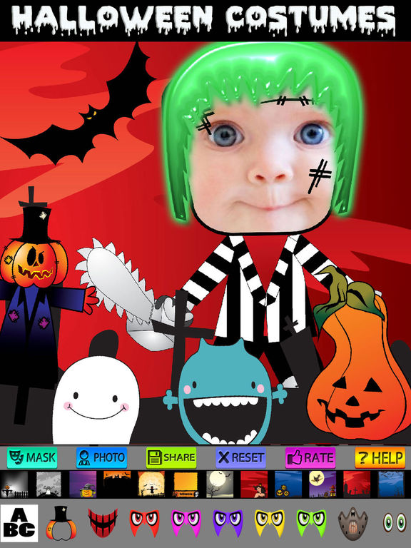 Halloween Cards and Photo Frames screenshot 6