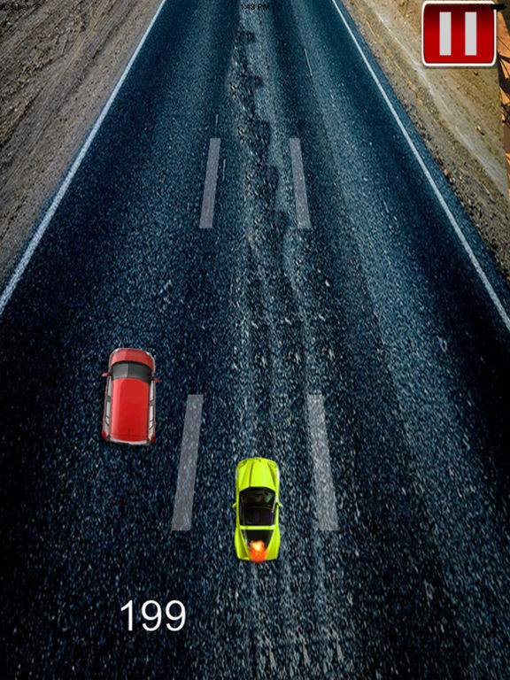 A Speed Endless To White Car Pro - A Hypnotic Game Of Driving screenshot 8