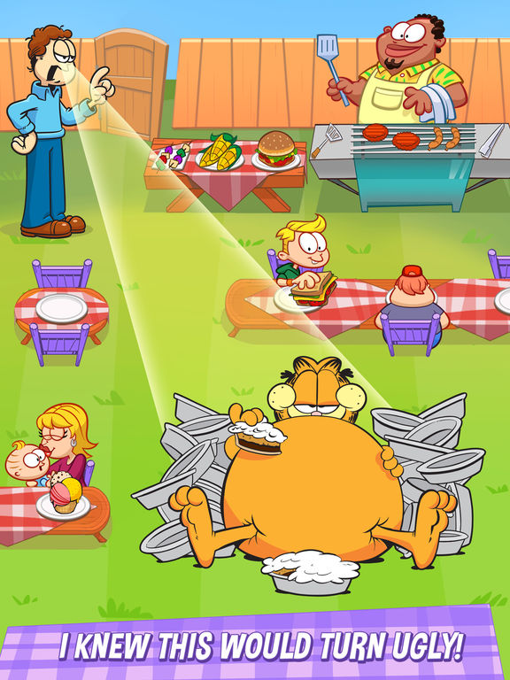 Garfield: My BIG FAT Diet screenshot 8