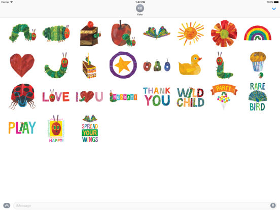 The Very Hungry Caterpillar & Friends Sticker Pack screenshot 4