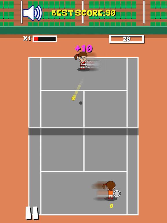 Retro Tiny Tennis screenshot 9