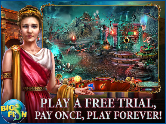 Dark Romance: Kingdom of Death HD - A Hidden Object Adventure screenshot 1