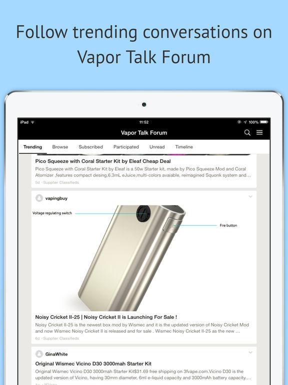Vapor Talk® Forum screenshot 5