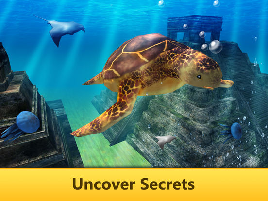 Ocean Turtle Simulator: Animal Quest 3D Full screenshot 6