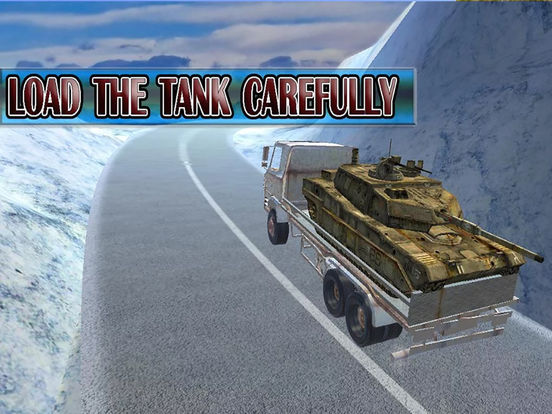 Army Delivery Truck Cargo 3d screenshot 6