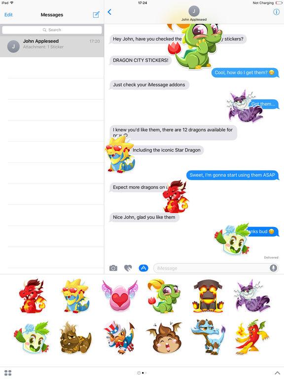 Dragon City Stickers screenshot 4