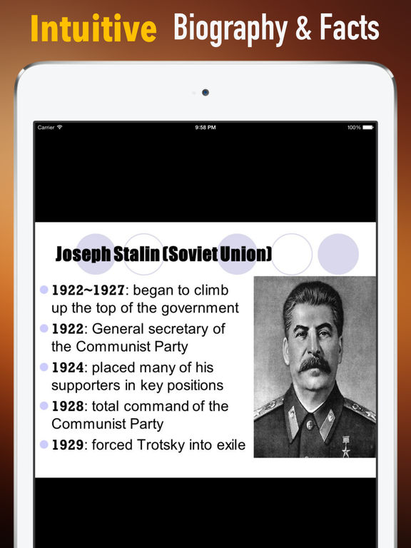 Biography and Quotes for Joseph Stalin:Life,Speech screenshot 6