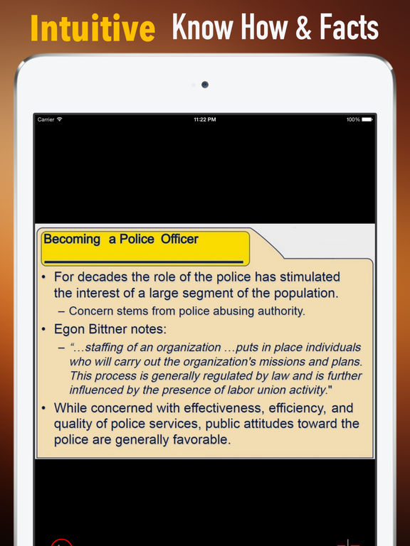Police Officer Exam:Study Guide and Courses screenshot 6