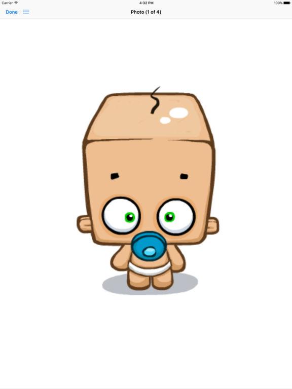 Blockhead Babies - Animated Stickers screenshot 8