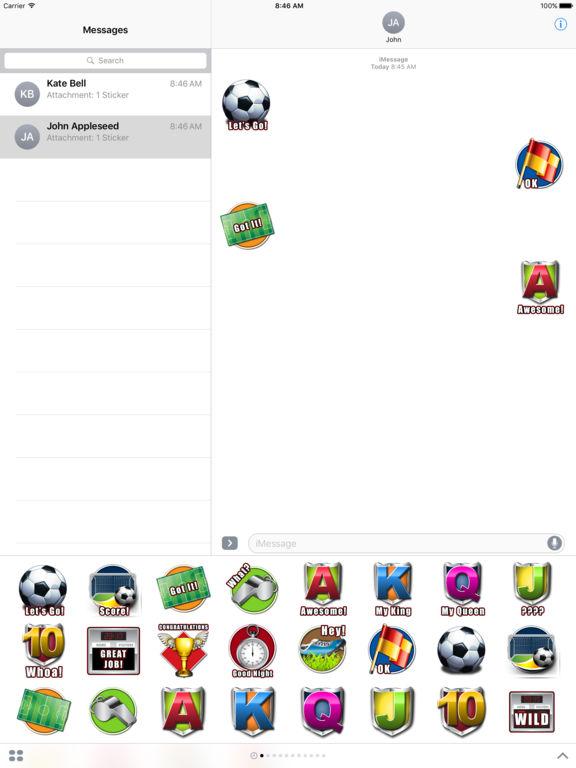 Footie Frenzy - Stickers screenshot 3
