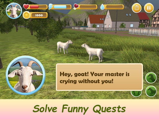 Farm Goat Simulator: Animal Quest 3D screenshot 6