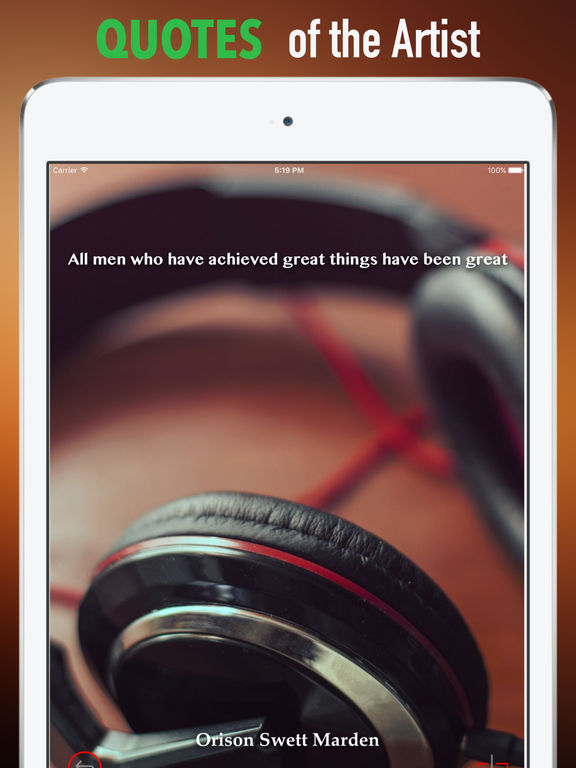 Headphone Wallpapers HD: Quotes Backgrounds screenshot 9