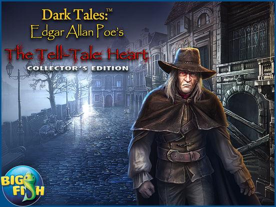 Dark Tales: Edgar Allan Poe's The Tell-tale Heart - A Hidden Object Mystery screenshot 10