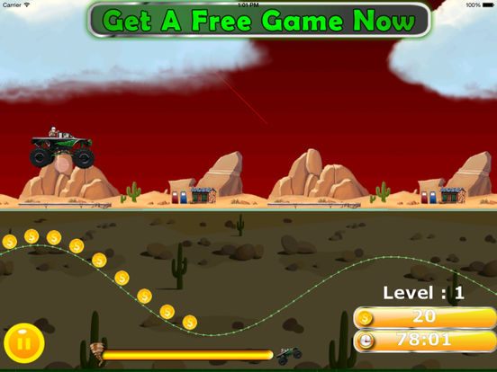 A Furious Monster Truck Pro - Car War Amazing Game screenshot 10