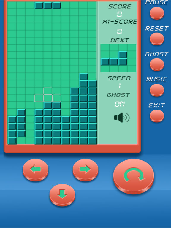Quadris Classic - Brick Classic - classic edition for tetris (iPad