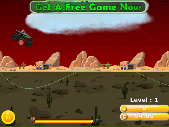 A Furious Monster Truck Pro - Car War Amazing Game screenshot 9
