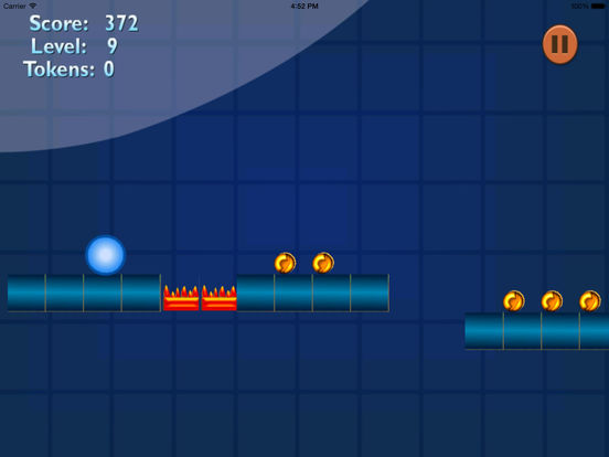 A Geometric Blue Ball screenshot 7