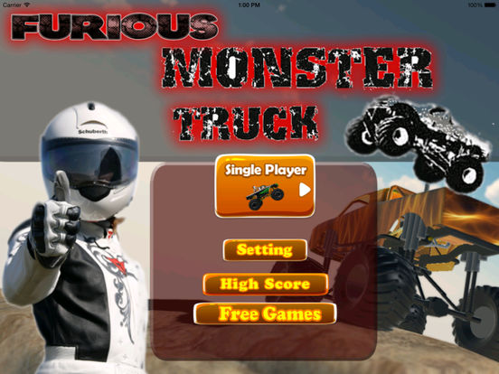 A Furious Monster Truck Pro - Car War Amazing Game screenshot 6