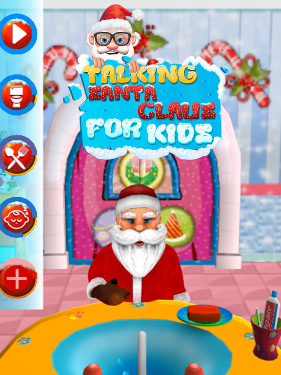 Talking Santa Claus For Kids screenshot 7