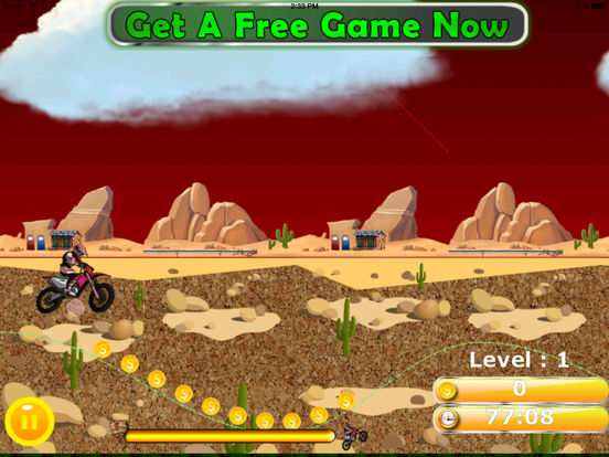 A Wild Trial Motocross Pro - Xtreme Downhill Bike screenshot 9