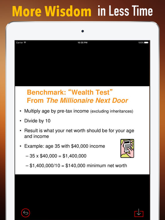 Practical Guide For The Millionaire Next Door screenshot 6