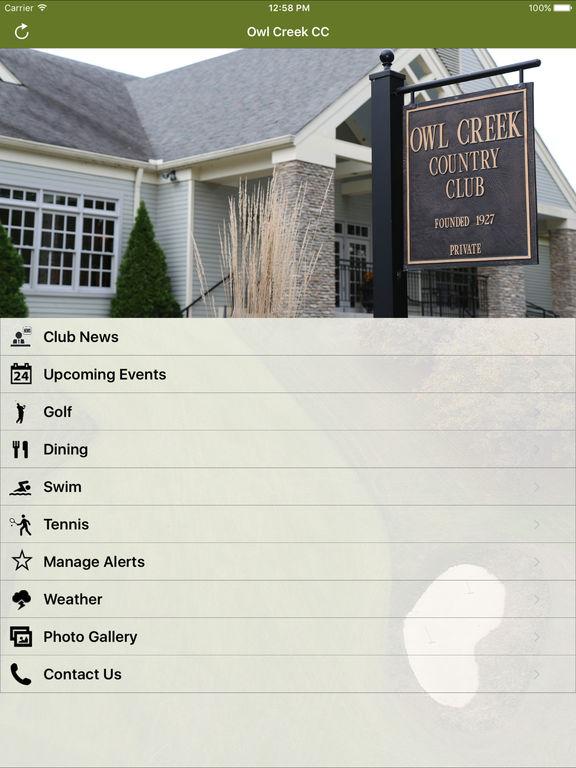 Owl Creek Country Club screenshot 4
