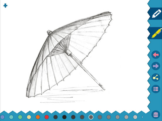 iSketch Pad for iPad and iPhone screenshot 6