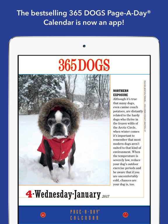365 Dogs Page-A-Day Calendar 2017 screenshot 6