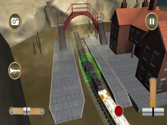Fast Train Drive : Real Simulator 2016 screenshot 6