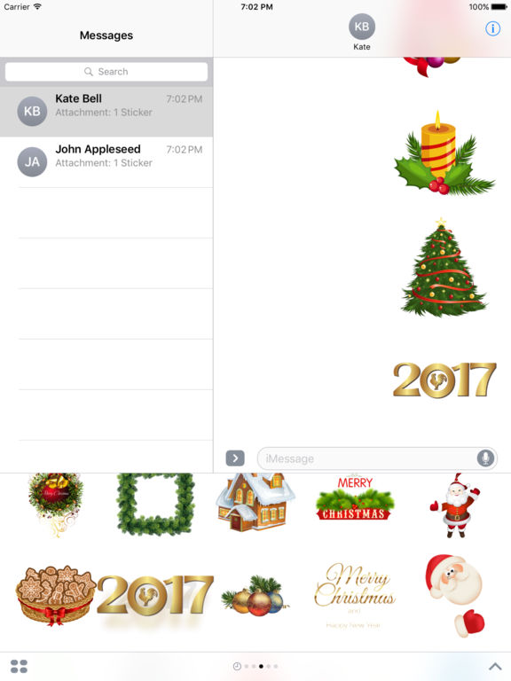 New Year Bundle Stickers for iMessage screenshot 6