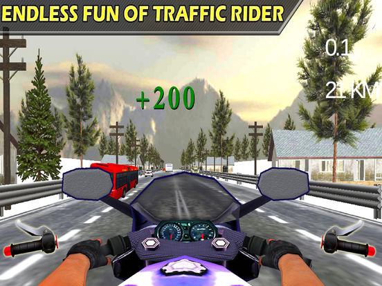 Traffic Moto Rider : Heavy Bike Racer screenshot 7