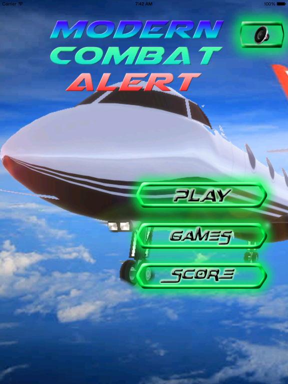 A Modern Combat Alert PRO - Air Attack Racing Game screenshot 6