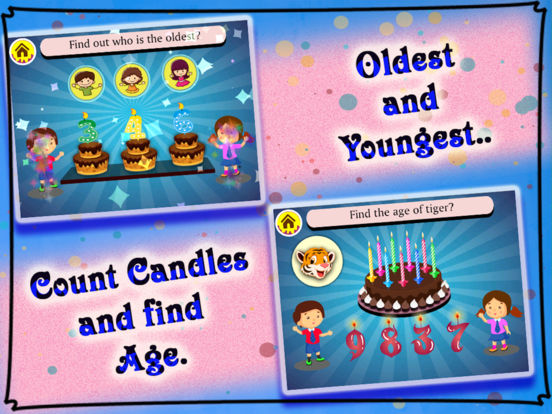 Birthday Party For Kids! Educational Fun Games for Toddler and Preschool Kids screenshot 10