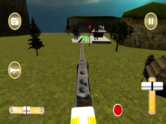 Fast Train Drive : Real Simulator 2016 screenshot 5