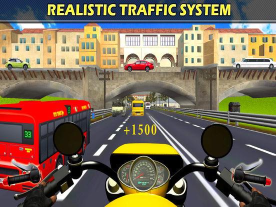Traffic Moto Rider : Heavy Bike Racer screenshot 8