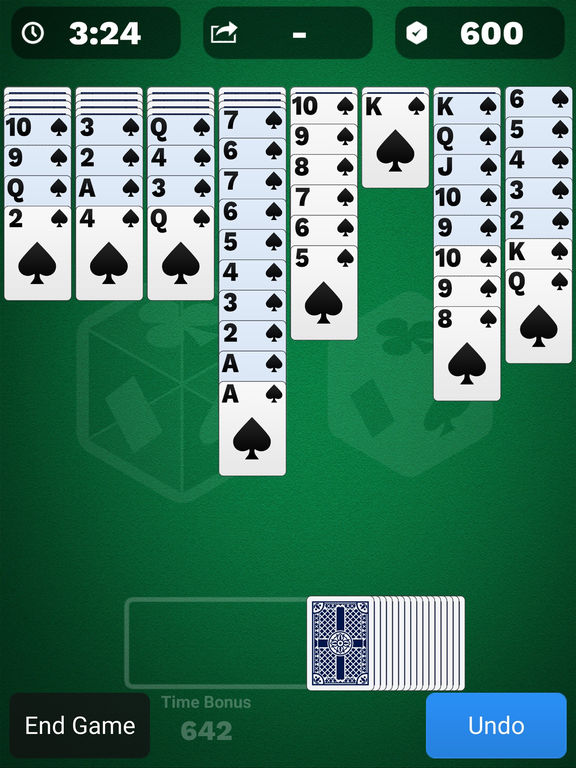 Spider Solitaire Cube screenshot 7