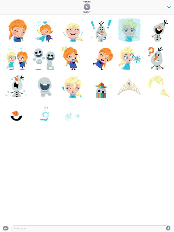 Disney Stickers: Frozen screenshot 6