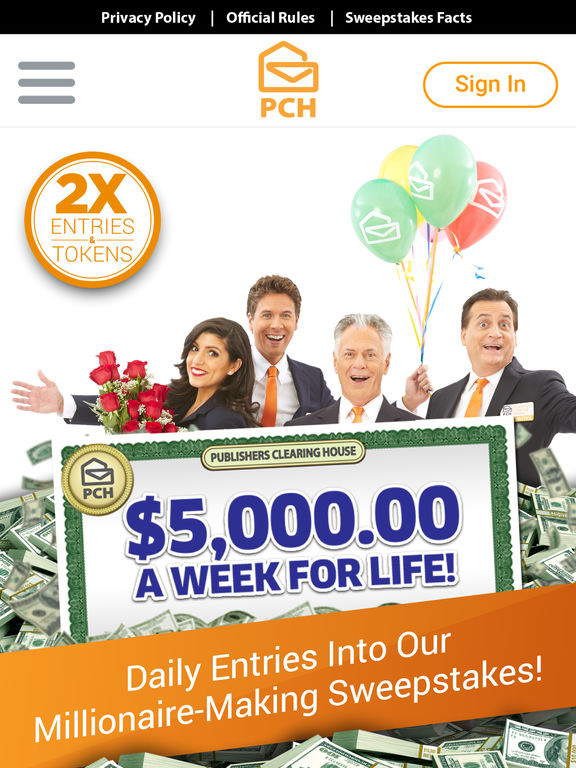 instant cash sweepstakes review the pch app cash prizes sweepstakes mini games by 2519