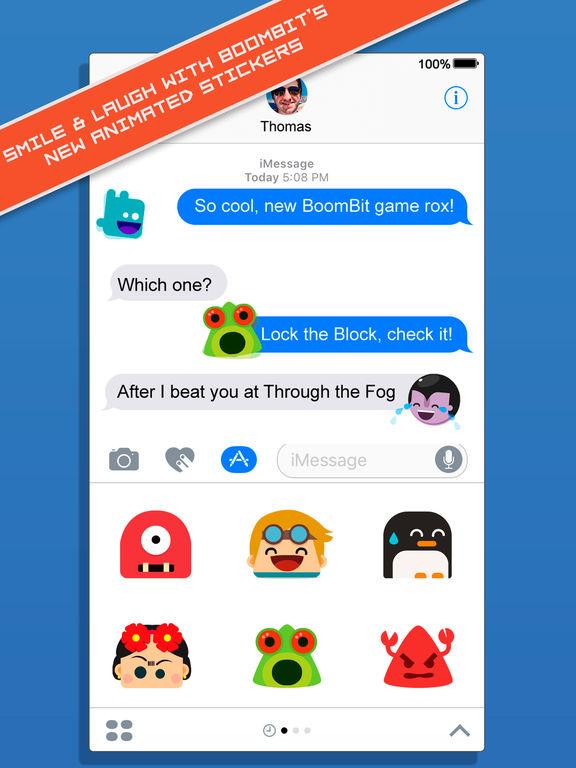 BoomBit iMessage Stickers screenshot 6