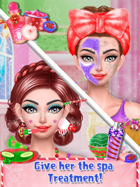 Christmas Doll Makeover Salon screenshot 8