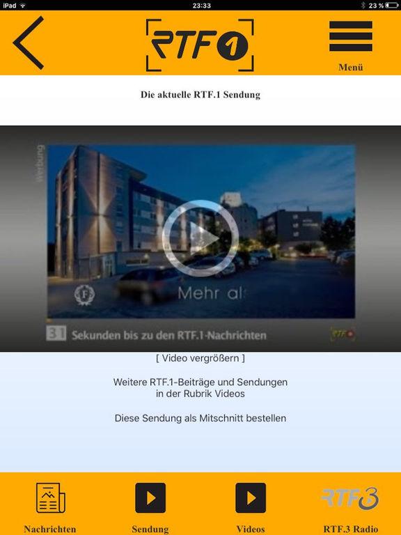 RTF.1 Regionalfernsehen screenshot 7