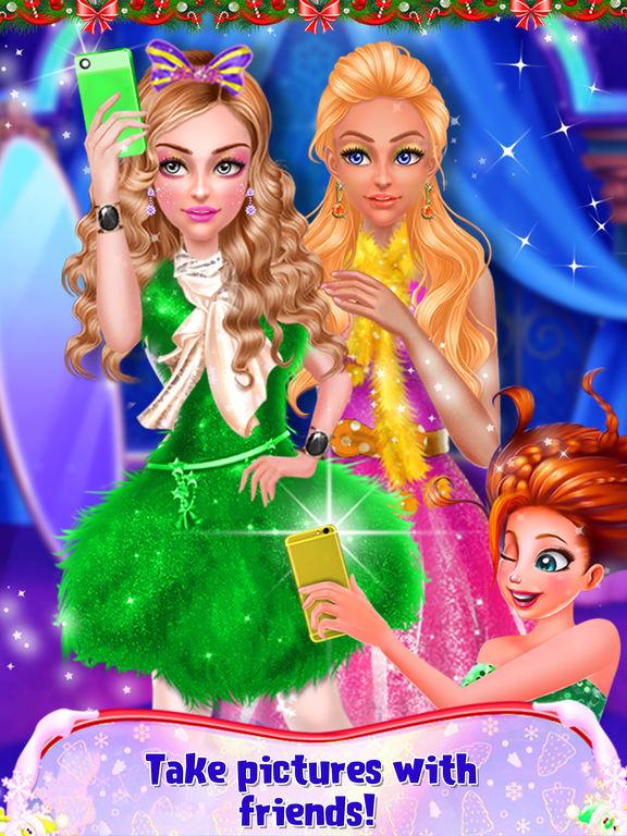 Christmas Prom Beauty Salon screenshot 7
