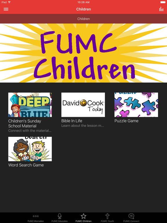 Fremont First UMC screenshot 5