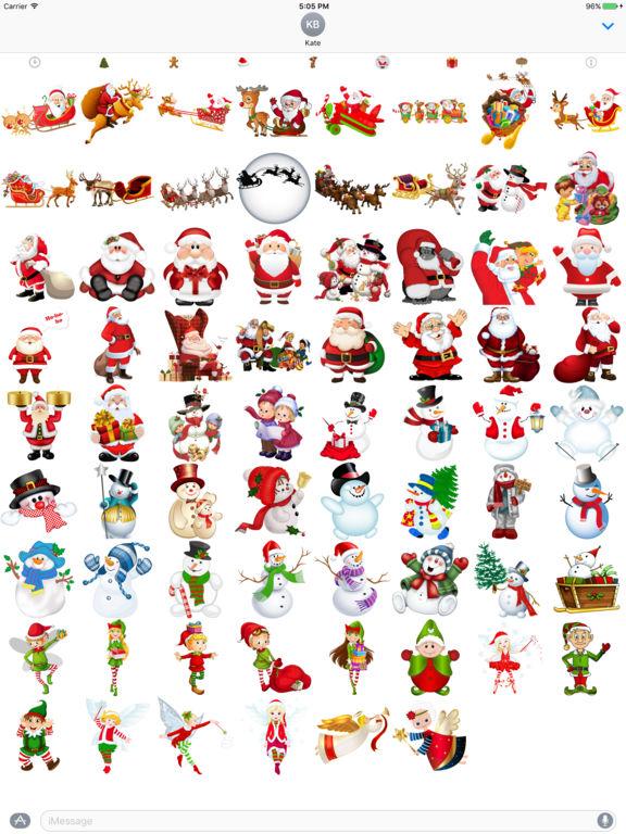 400+ Christmas Stickers screenshot 6
